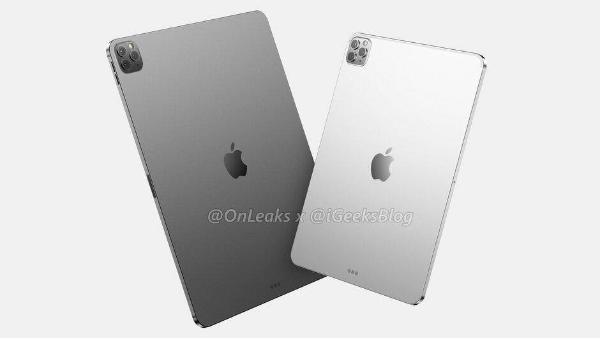 苹果 iPad Pro 2020系列渲染图曝光,后置摄像头或将一变三