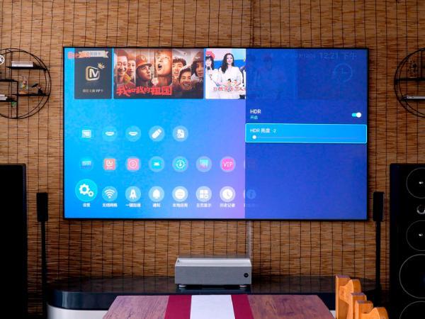 客厅观影高端佳选 明基4K激光电视i960L评测