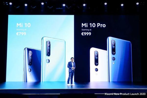 新增小米10 Lite 小米10系列海外版正式发布
