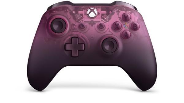 微软官方上新:紫色透明版Xbox无线手柄,售价499元