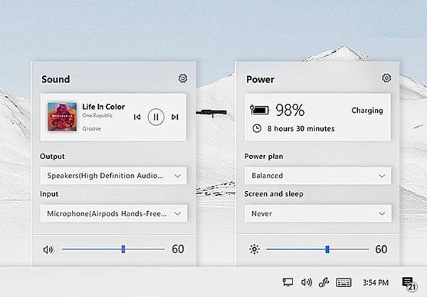 理想中的Win10界面来了!民间设计师PK微软御用,你中意哪个?