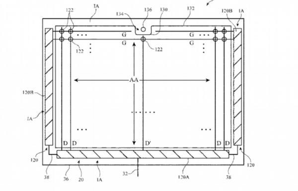 苹果新专利曝光:iPad或采用横向刘海屏