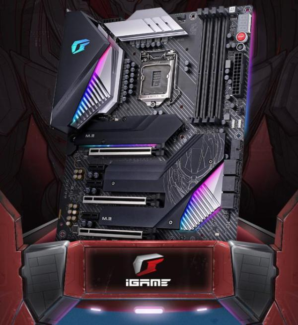 炫酷与实力兼备的主板:七彩虹iGame Z490 Vulcan X V20