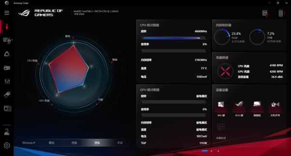 强大硬核搭配240Hz专业电竞屏!ROG魔霸4游戏本评测