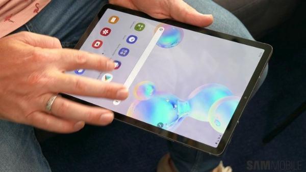 三星Galaxy Tab S7+曝光:骁龙865+