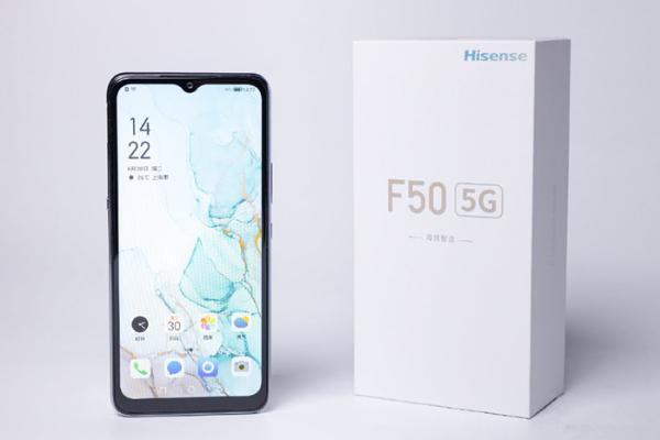 5G手机中的续航领跑者 海信手机F50开启5G新速...