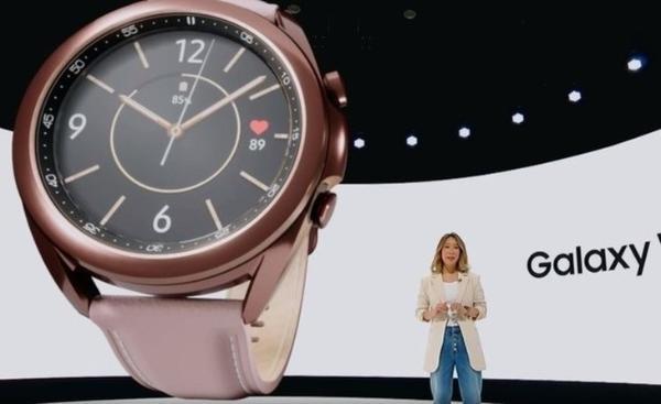 三星Galaxy Watch 3上新:支持血氧监测
