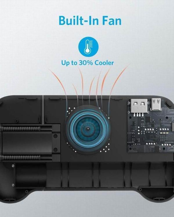 Anker上架新品 手柄散热器充电宝三合一
