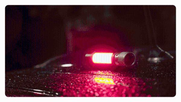 小米上架户外6合1雷鸣手电,强力照明
