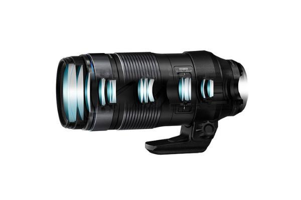 奥林巴斯发布100-400mm F5.0-6.3 IS镜头