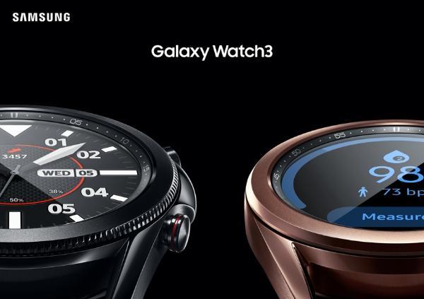 三星Galaxy Watch3和三星Galaxy Buds Live正式发布