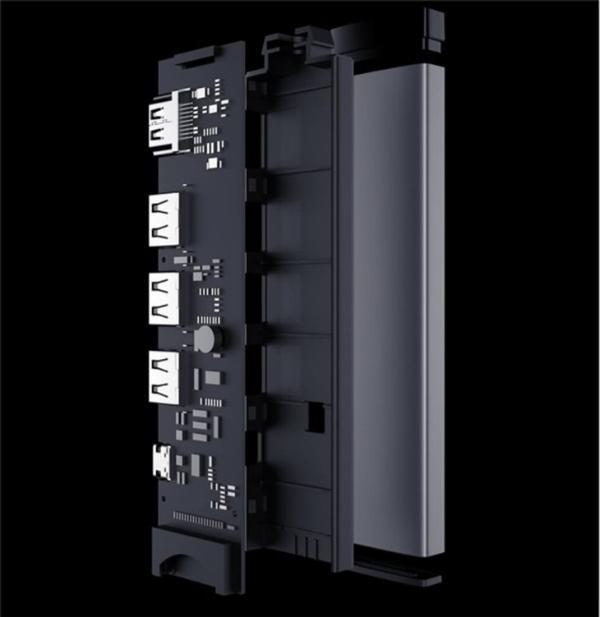 米物推出七合一扩展坞 全金属机身