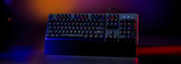 雷柏推出防水机械键盘 配备自主红外银轴