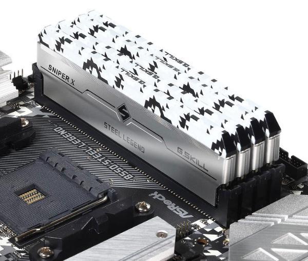 芝奇推出华擎联名款SniperX系列内存