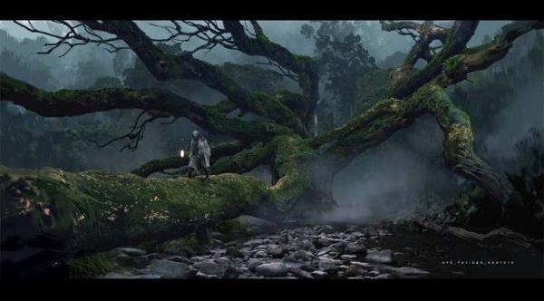 国产游戏大作《黑神话:悟空》早期精美概念图曝光