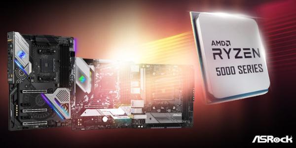 华擎500系列主板已支持锐龙5000系列处理器