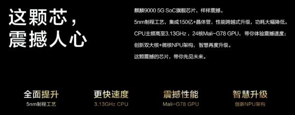 最强麒麟芯片登场!华为Mate40系列发布:4999元起