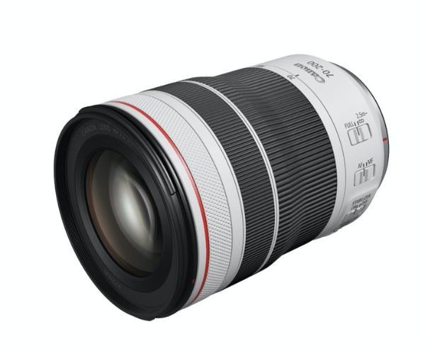 佳能发布远摄变焦镜头RF70-200mm F4 L IS USM