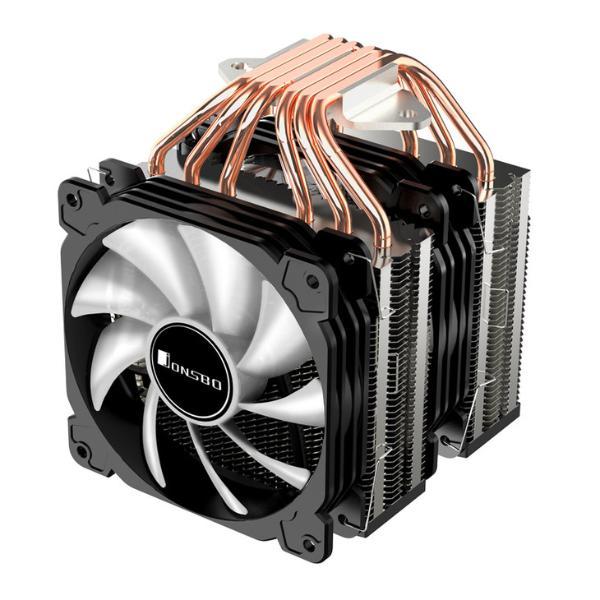 乔思伯发布CR-2100散热器 双塔6热管更具性价比