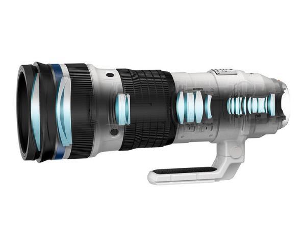 站姐与代拍最爱 奥巴发布150-400mm F4.5镜头