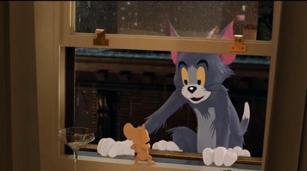 一代经典《猫和老鼠》真人版今日放出中文预告
