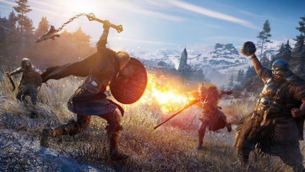 《刺客信条:英灵殿》爆火!成育碧首发最畅销游戏