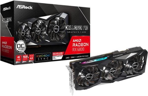 华擎发布RX 6800 XT以及RX 6800显卡