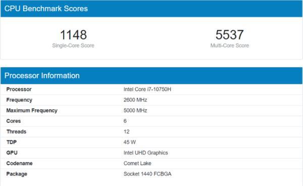 AMD新一代游戏本!锐龙9 5900HX跑分曝光