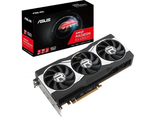 瞩目的AMD卡皇!华硕推出RX6900XT公版卡