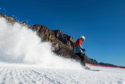 延庆赛区成立首支农民志愿服务滑雪队