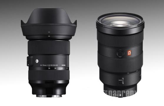 适马将发布用于索尼无反光镜相机的24-70mmf2.8FE镜头