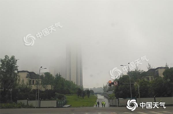 重庆多地经历5月以来最凉爽一天 明日重启升温模式