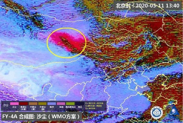 沙尘16时前后抵达!北京能见度短时下降 晚高峰或受影响