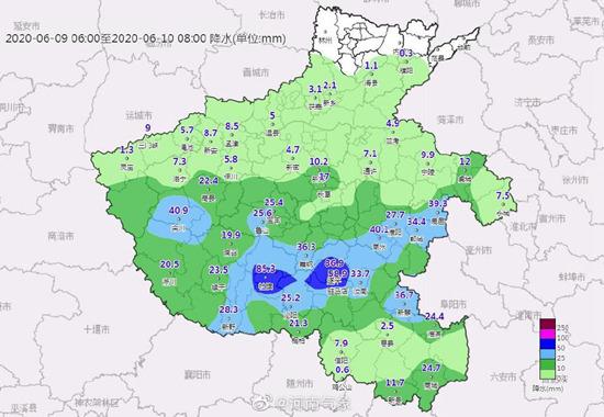 河南明后天再迎明显降雨局地暴雨 利于缓解气象干旱