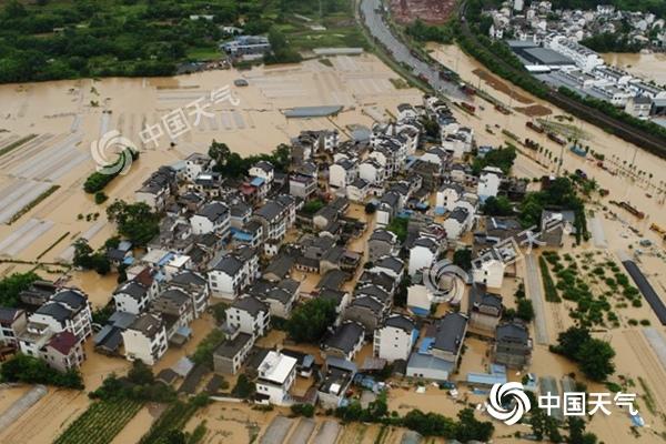 安徽歙县大暴雨致高考语文数学均延期 明天这些地方也需小心