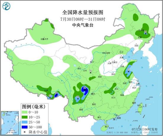 """长江中下游进入雨水""""退场""""倒计时 江南北部高温将增多"""
