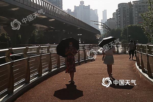 重庆今天气温冲击39℃ 明后天部分地区雷阵雨再来袭