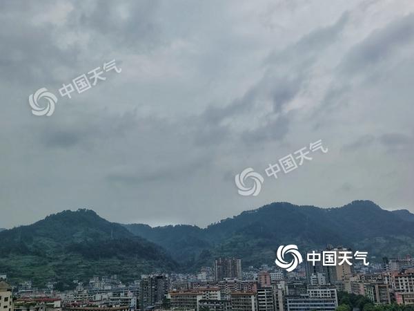未来三天湖南强降雨来袭 湘中以北部分地区有大暴雨