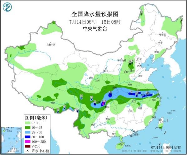 """南方新一轮强降雨今天进入最强时段 江南华南""""焖蒸""""不下线"""