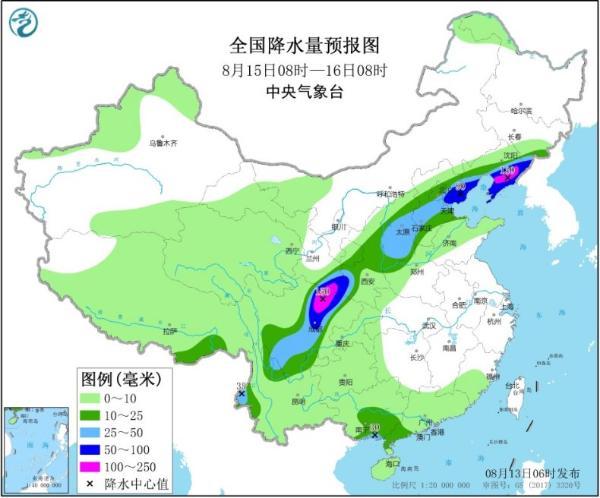 北方强降雨转移至东北地区 江南经历今年来最持久高温