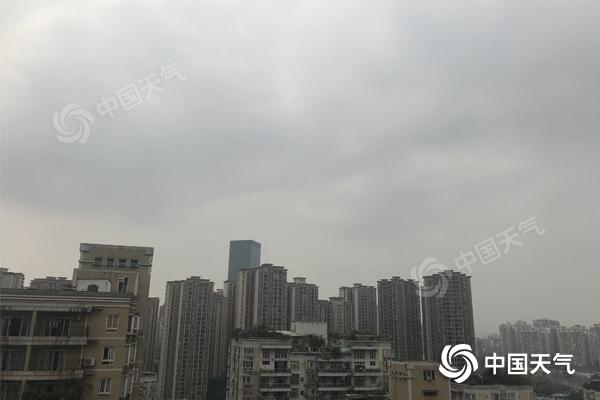 雨水来降温!重庆未来三天多雷雨 持续高温将缓解