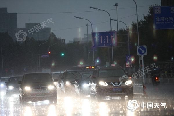 今天北京仍有阵雨早高峰出行注意安全 明后天逐渐转晴气温升