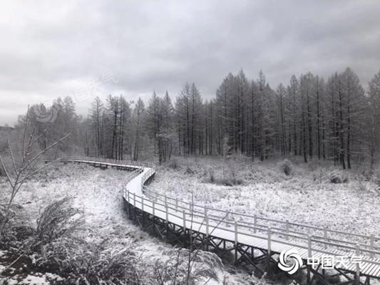 内蒙古呼伦贝尔等多地出现降雪 今天仍需防范风寒效应