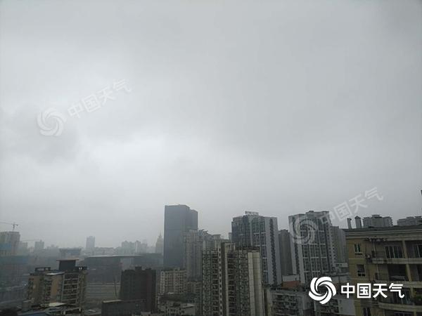重庆10月来日照数创历史新低 未来三天仍难觅阳光
