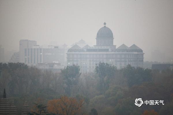 霾天气继续!北京今晨能见度较低 高楼若隐若现