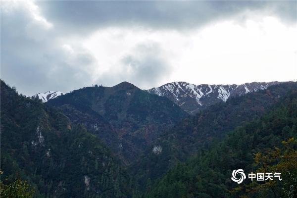 冬意渐浓!云南贡山独龙江景色如画卷