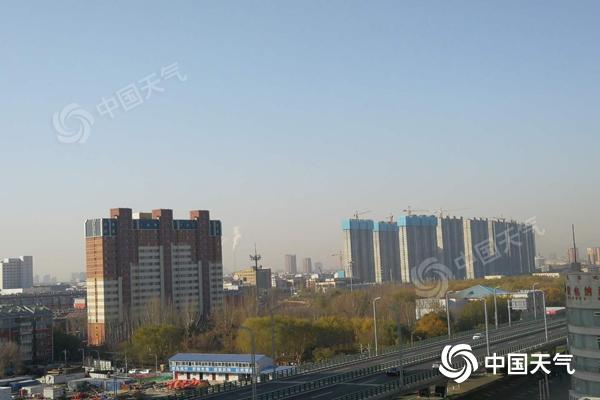 """内蒙古风雪降温""""齐上线"""" 大部地区气温将下降4至6℃"""