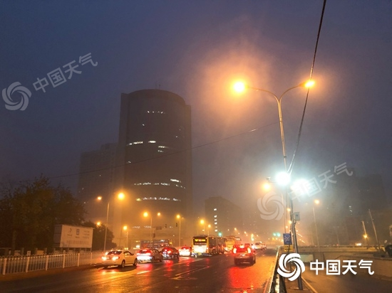 今明天北京有明显降雨 后天北风渐起最低温降至冰点附近