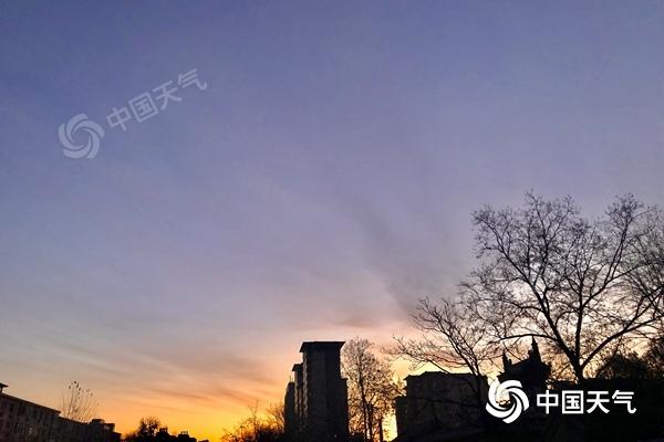 注意保暖!北京今天晴天在线 夜间最低温仅有-5℃