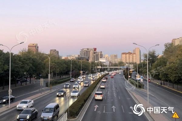 北京维持晴燥早晚寒意重 明起大气扩散条件转差